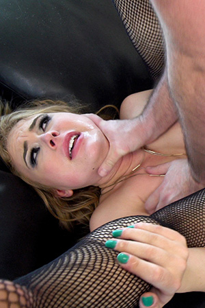 Alyssa Cole Has Her Anal Cavity Filled And A Facial Shower