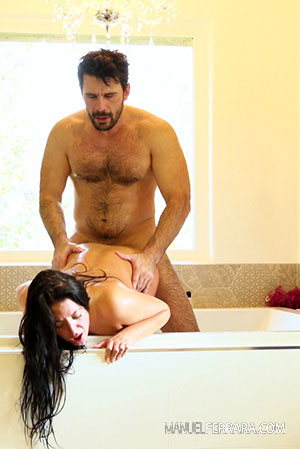 Angela White Anal Big Tit Slut Makes Manuel Cum 3 Times