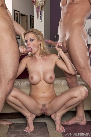 Tarra White Takes On Two Tallywhackers